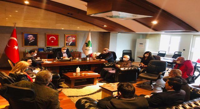 Gelecek Partisi Antalya İl Başkanlığında yoğun çalışma