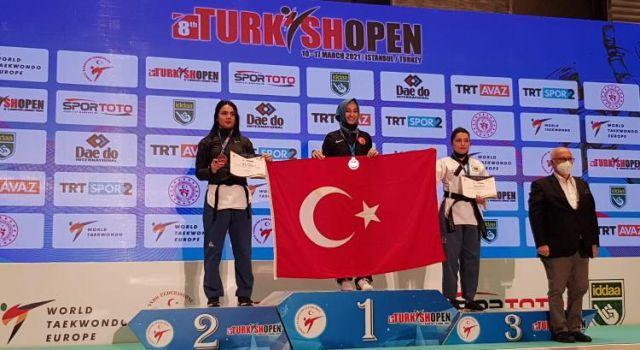 TURKİSH OPEN 2021'DE MİLLİ SPORCULAR BOY GÖSTERDİ...