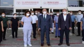 İl Sağlık Müdürü Dr. Ünal Hülür, korona virüs salgınıyla mücadele kapsamında,